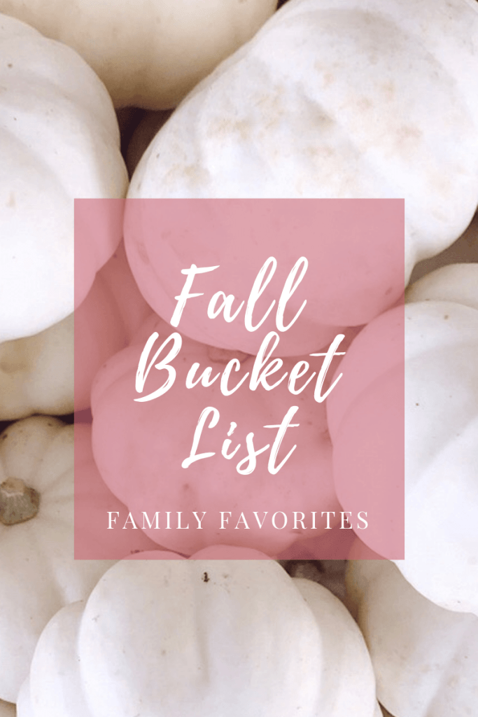 Fall bucket list / family fun - DarlingSouth.com