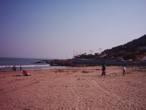 Songjeong beach