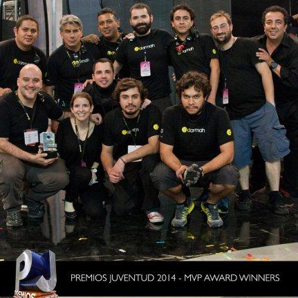 MVP AWARD WINNERS - Premios Juventud 2014
