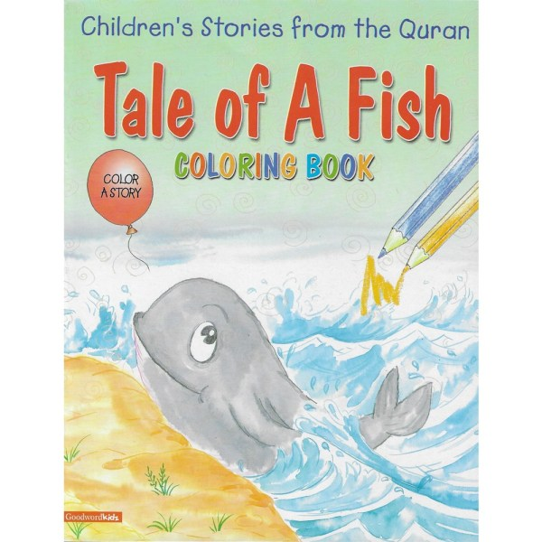 Tale of a Fish Coloring Book - Goodword