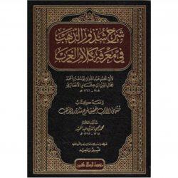 SHARH SHUZOR AL-ZAHAB – شرح شذور الذهب في معرفة كلام العرب