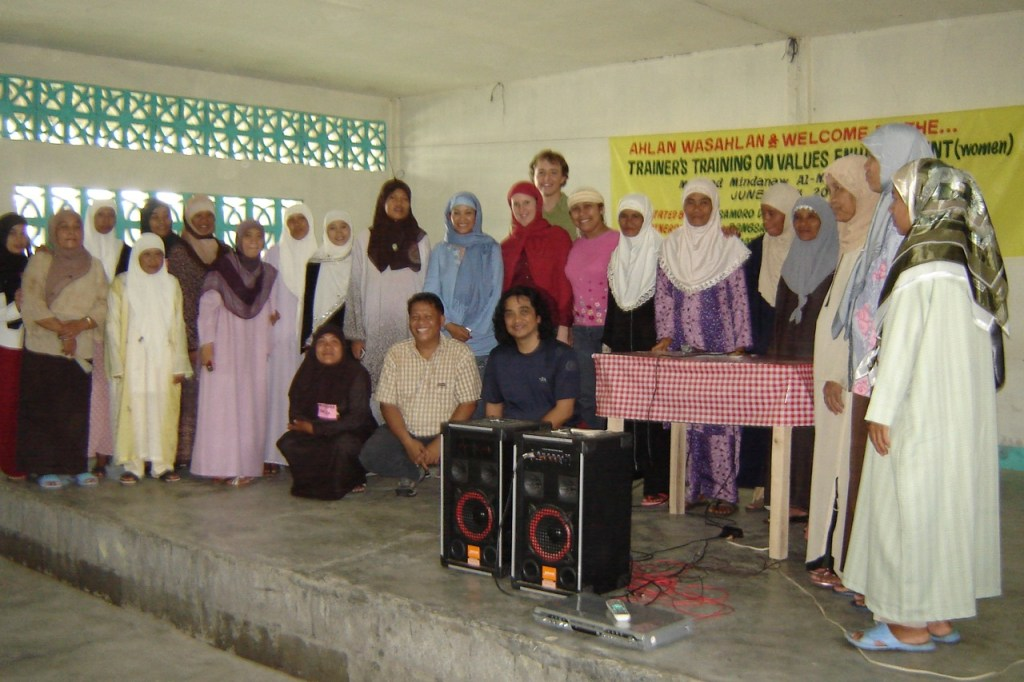 Christians and Muslims in Mindanao celebrate common islamic peace theology Values Enhancement Training