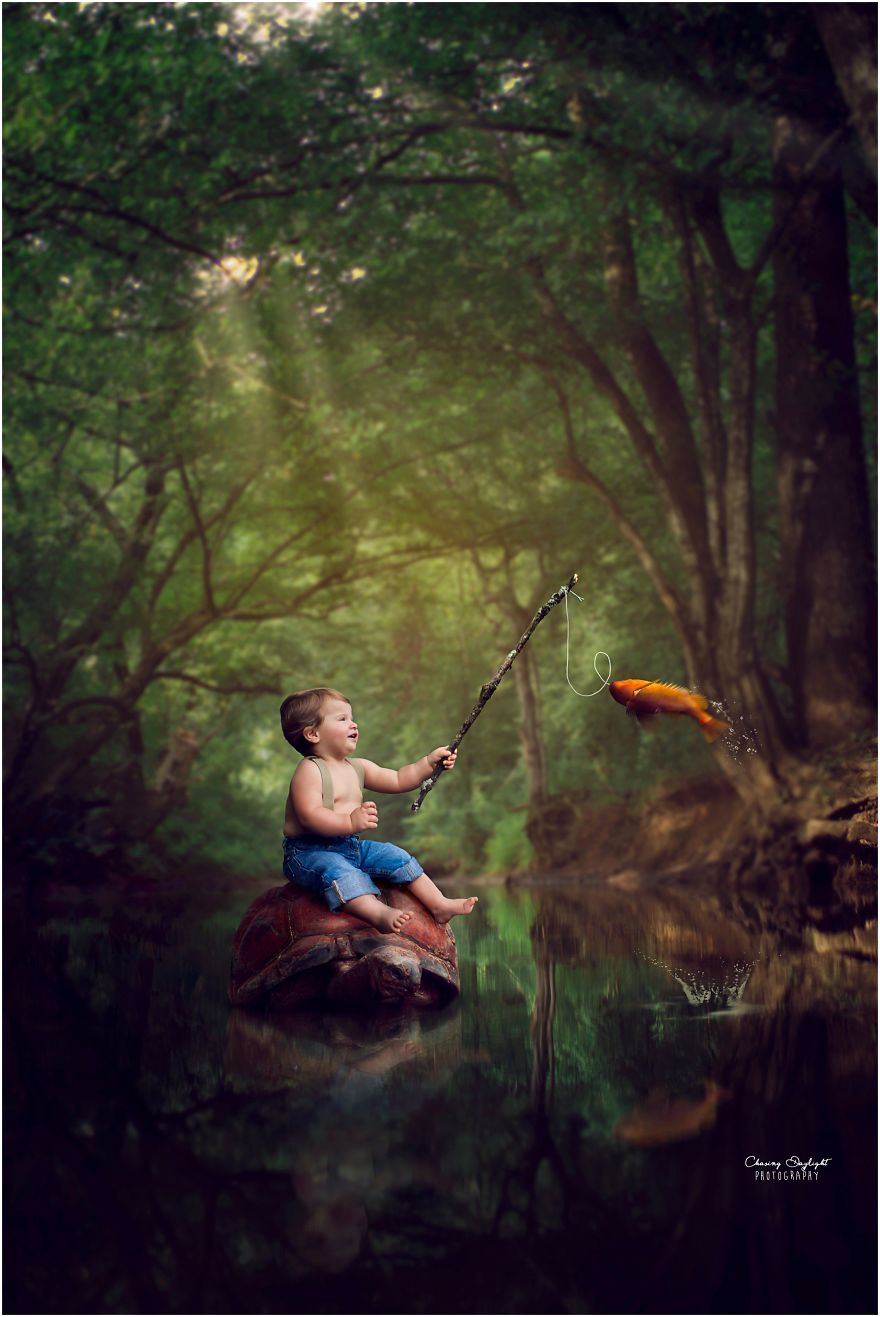 Mom Photographer Creates Amazing Whimsical Childrens Portraits  DarnKid