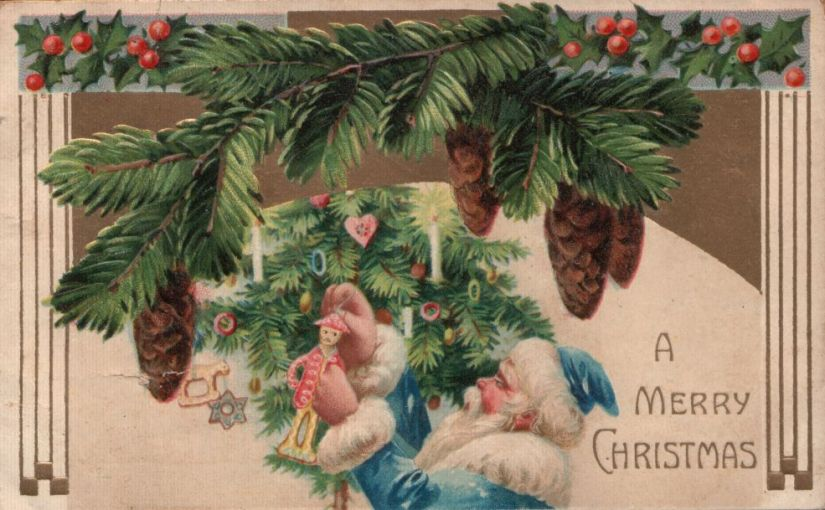 Grandma Julia's Christmas Postcards