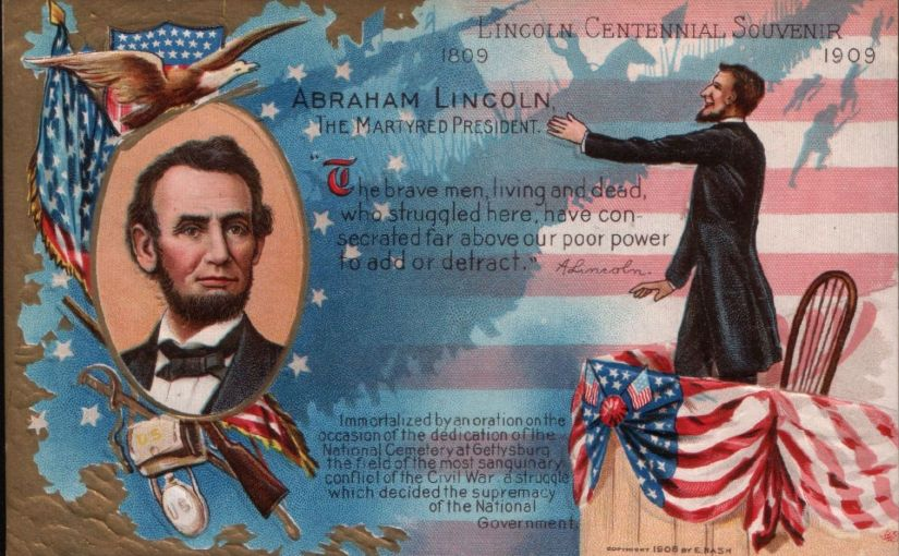 One Postcard Saturdays – Abe Lincoln