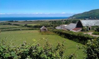 Views on teh walk to Porlock Weir