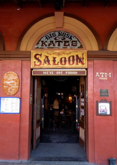 Kate was not happy about the name of this particular saloon.
