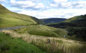 Route to Talybont on A44