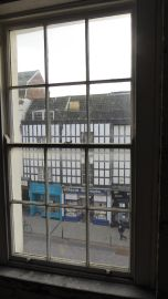 Looking out onto the Fleece