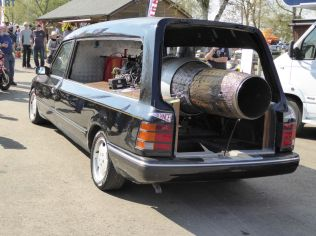 What else would you put in the back of a hearse?