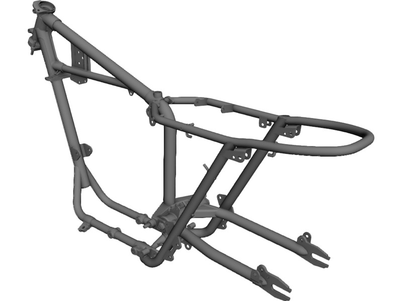 Basic shapes of Motorbike Frames