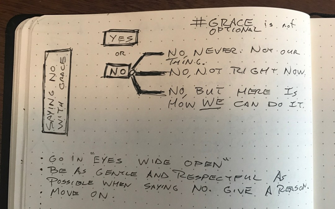 Saying No With Grace