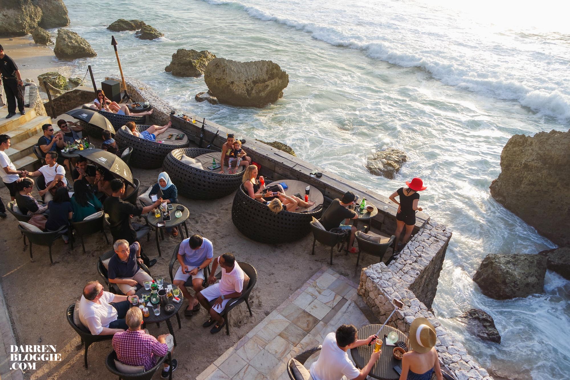 Catch The Beautiful Sunset At Rock Bar Bali Darren