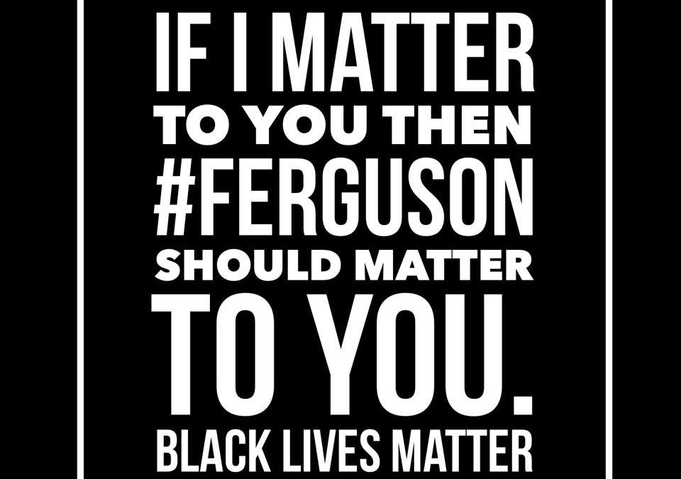 Why Does #Furgeson Matter?