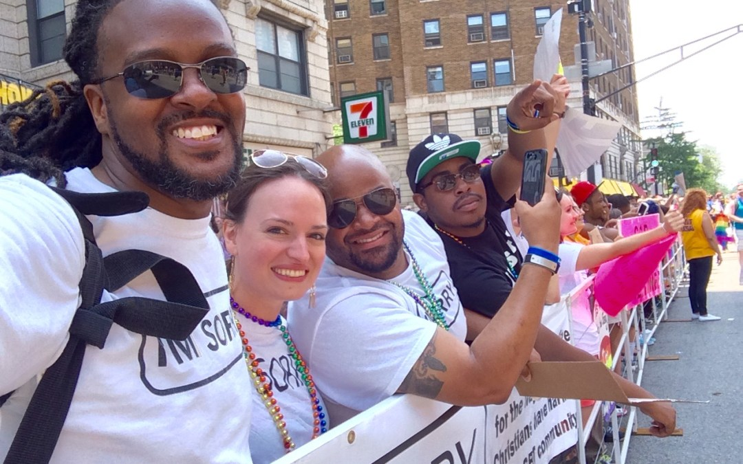 What does it mean to #MakeLoveLouder at Chicago's Pride Parade?