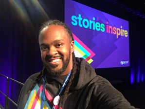 "#GCNconf's theme was ""Stories Inspire"""