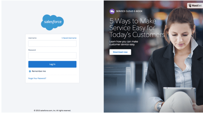 The New Salesforce Login Screen