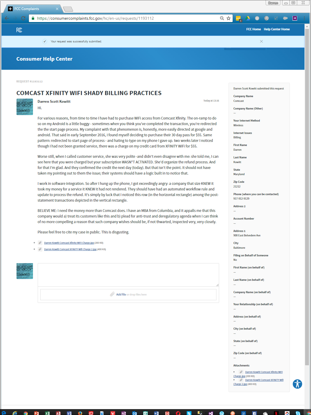 Comcast XFINITY Wifi Pass: Shady Billing Practices