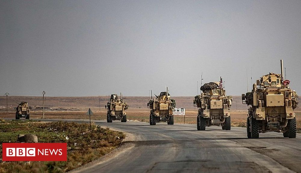 Trump US troops leaving Syria will go to Iraq, says Pentagon chief