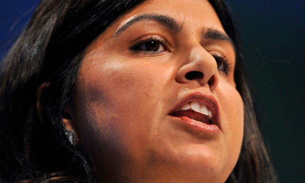 Former Conservative Chair Baroness Warsi says she is 'truly ashamed' of her party following conference debate on Islamophobia