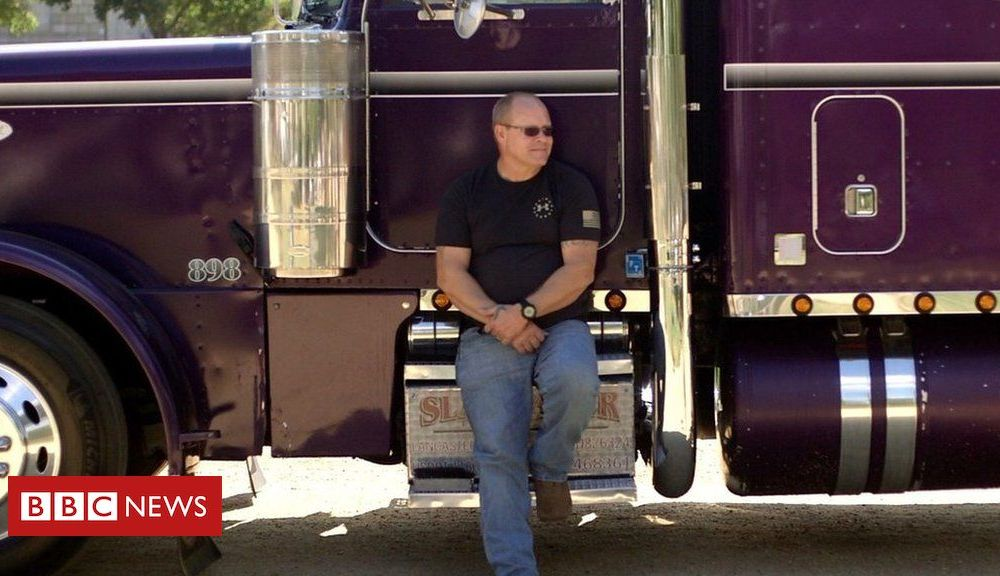 Trump Trump impeachment: US truck drivers give their view