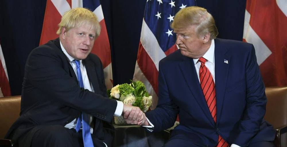 Trump backs 'fantastic' Boris Johnson and says Jeremy Corbyn would take UK to 'bad places'