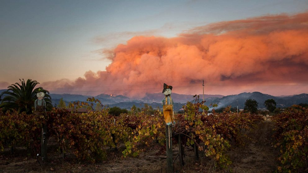 Farmworkers face health risks in California wildfires