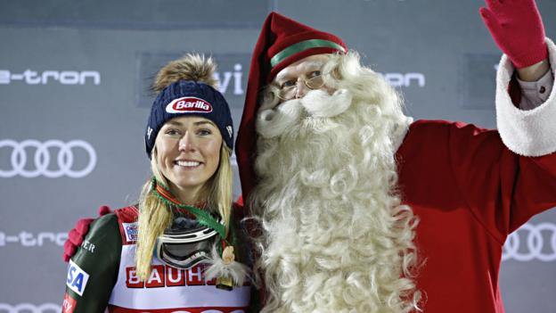 Sport Mikaela Shiffrin wins 41st slalom World Cup title to break Ingemar Stenmark's record