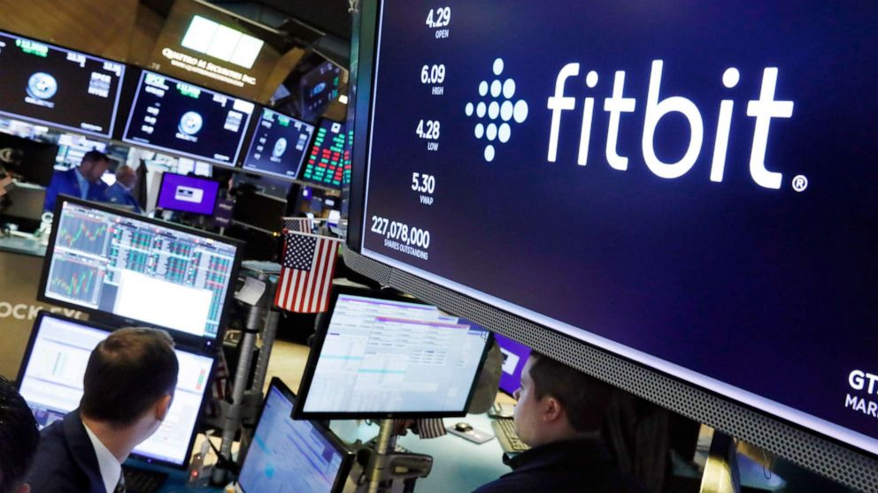 Fitbit stock soars amid rumors of acquisition by Google's Alphabet Inc.