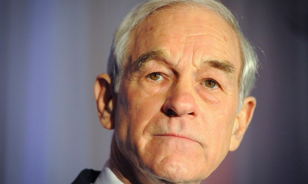Crypto Mother of All Bubbles Meltdown Will Be Bigger Than 2008: Ron Paul