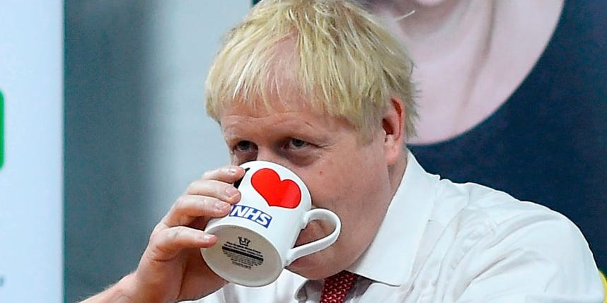 Boris Johnson said patients should have to pay to use the NHS so they will 'value' it more