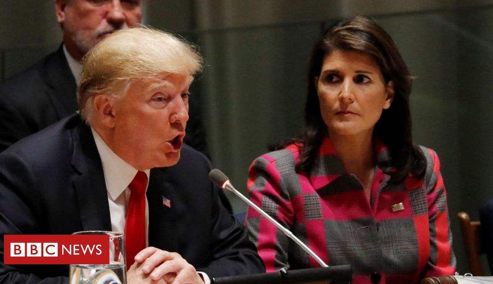 Trump Nikki Haley: 'Impeachment is like death penalty for public officials'