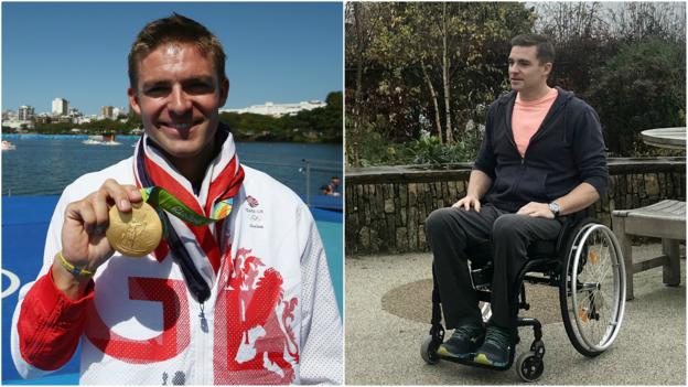 Sport 'I felt life draining out of my legs' – Reed on paralysis after spinal stroke