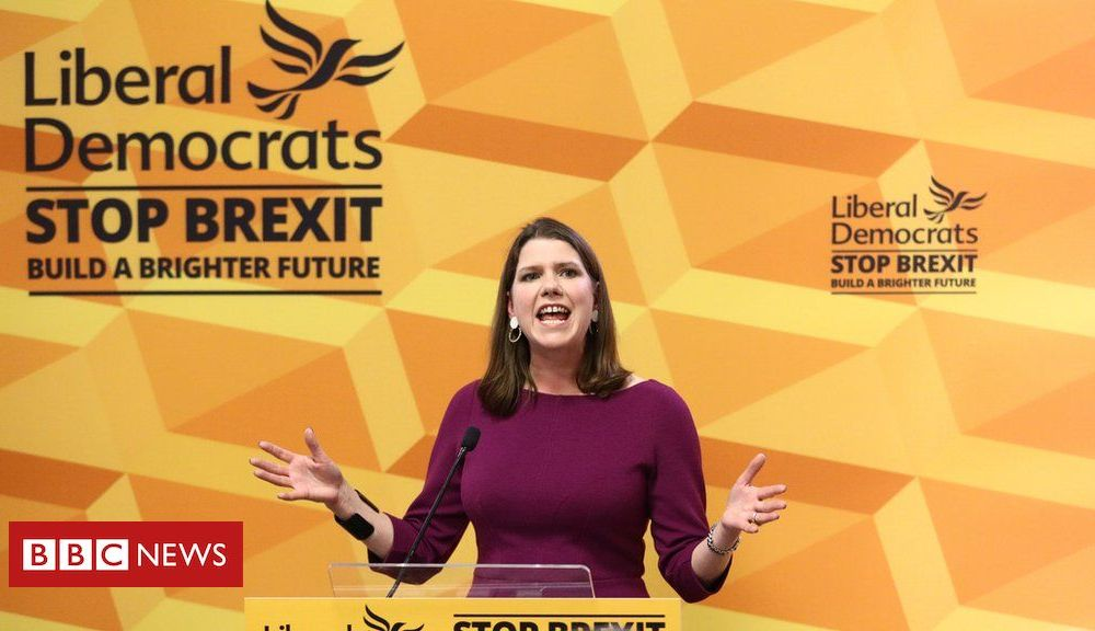 General election 2019: Swinson accuses PM of 'game-playing' over EU