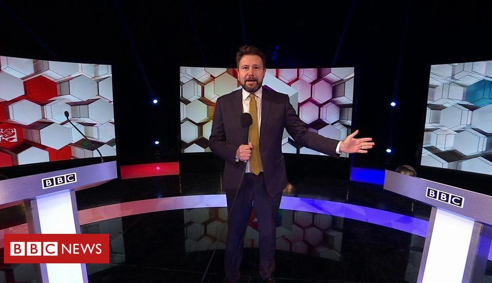 General election 2019: On the set of BBC's Boris Johnson and Jeremy Corbyn debate