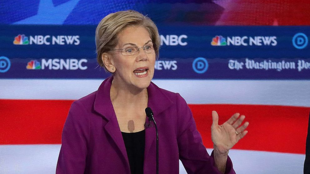 Warren pledges not to nominate 'wealthy donors,' but has approved them in Senate