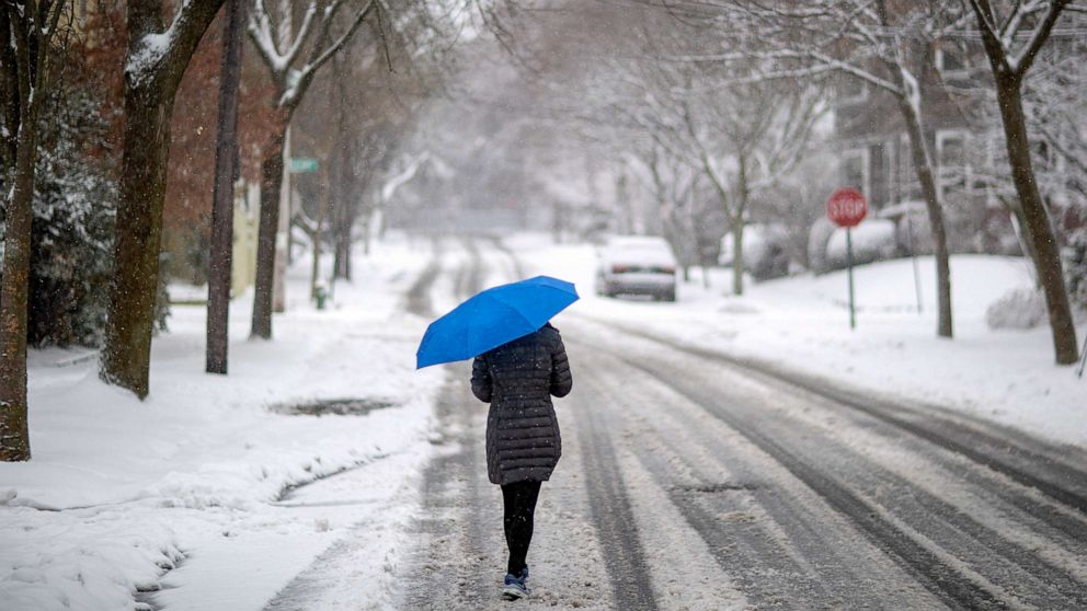 1-2 punch as pair of storms bring heavy rain, mudslide threat, mountain snow to West