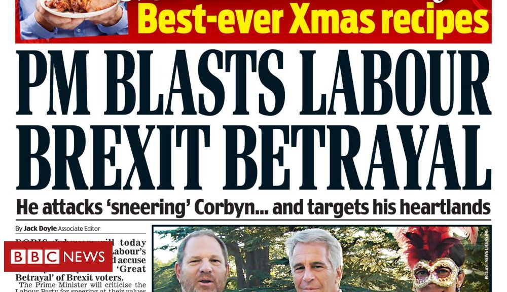 Newspaper headlines: 'Labour Brexit betrayal' and 'NHS waits cover up'