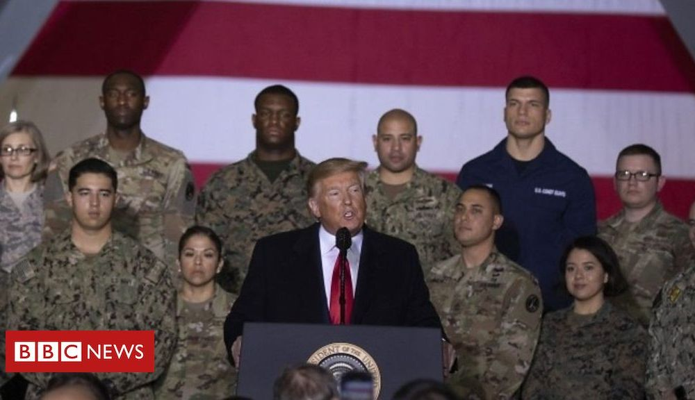 Trump Trump: 'Space is the world's newest war-fighting domain'