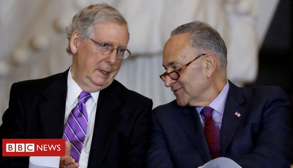 Trump Trump impeachment: Schumer calls for White House witnesses at trial