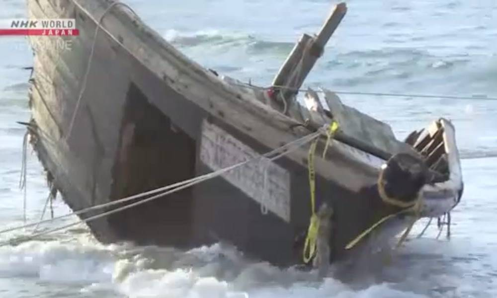Human remains — including 2 decapitated heads — were found on a North Korean 'ghost ship' that washed ashore in Japan