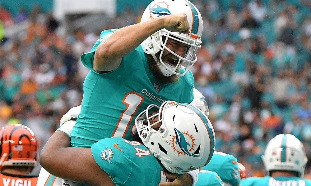 Rookie defensive lineman Christian Wilkins scores superb big-guy touchdown for Dolphins