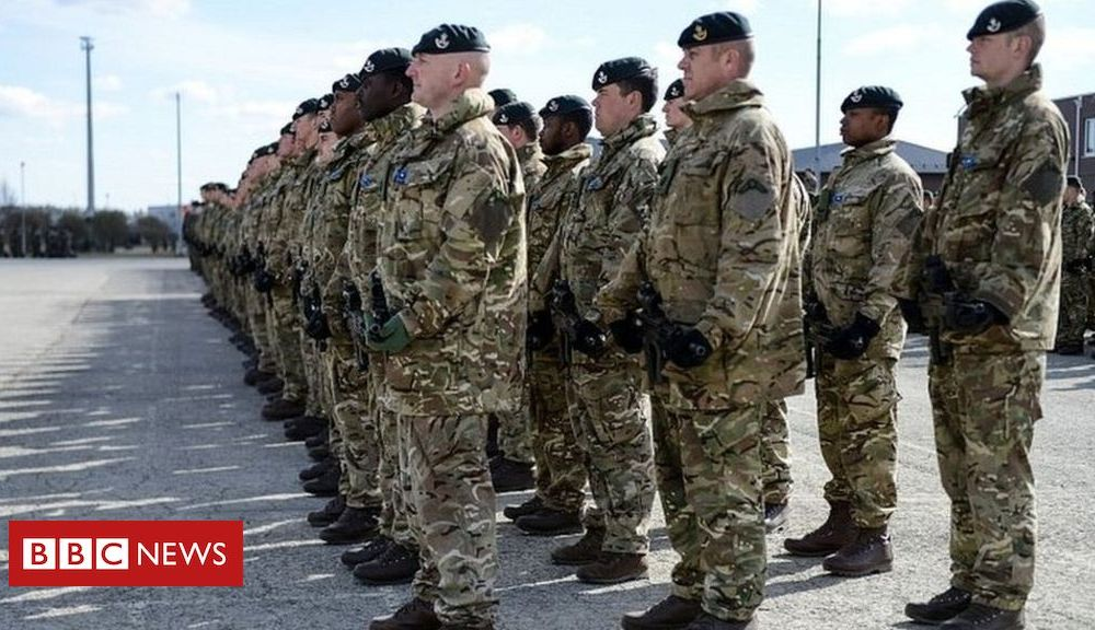 Boris Johnson in pre-Christmas visit to UK troops in Estonia