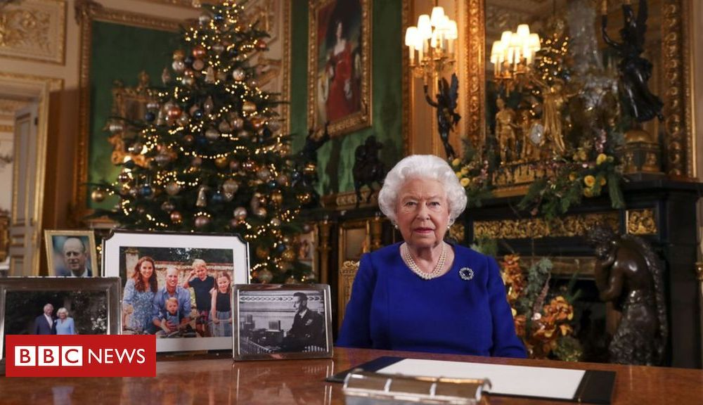 Trump Queen acknowledges 'bumpy' year for nation in Christmas message