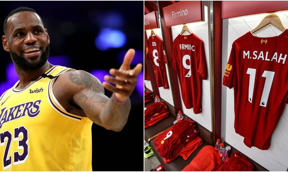 Liverpool FC just signed the most lucrative kit deal in EPL history with Nike, and part owner Lebron James celebrated on Instagram