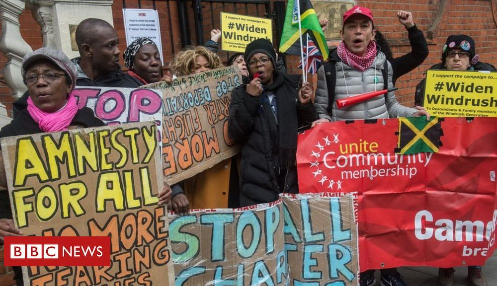 Windrush: Call to review deportation of foreign-born offenders