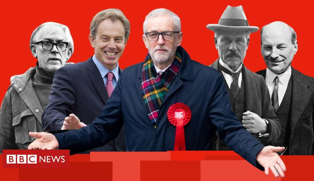 100 years of the UK Labour Party's ups and downs