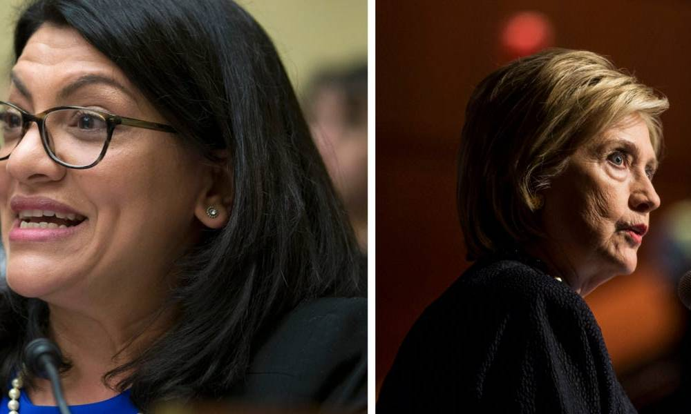 Top Bernie Sanders surrogate Rashida Tlaib apologized after a clip of her booing Hillary Clinton went viral
