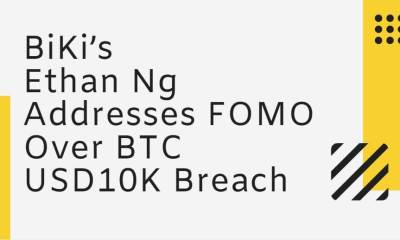 Crypto BiKi's Ethan Ng Addresses FOMO Over BTC USD10K Breach