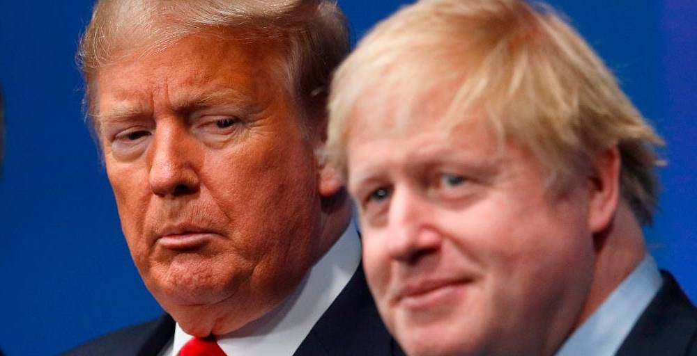 Boris Johnson has cancelled his planned trip to the White House after Trump slammed the phone down on him in a moment of 'apoplectic' fury
